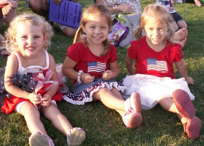 4th of July girls