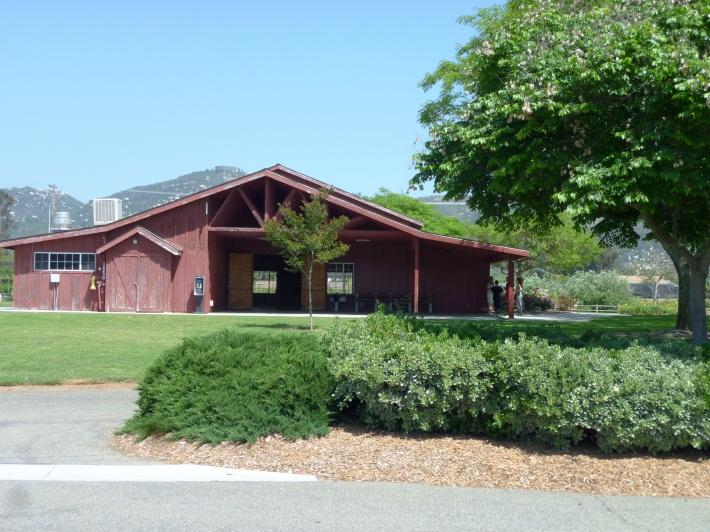 Walnut Grove Park Barn