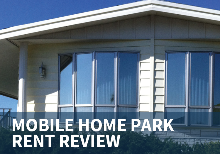 Mobile Home Park Rent Review