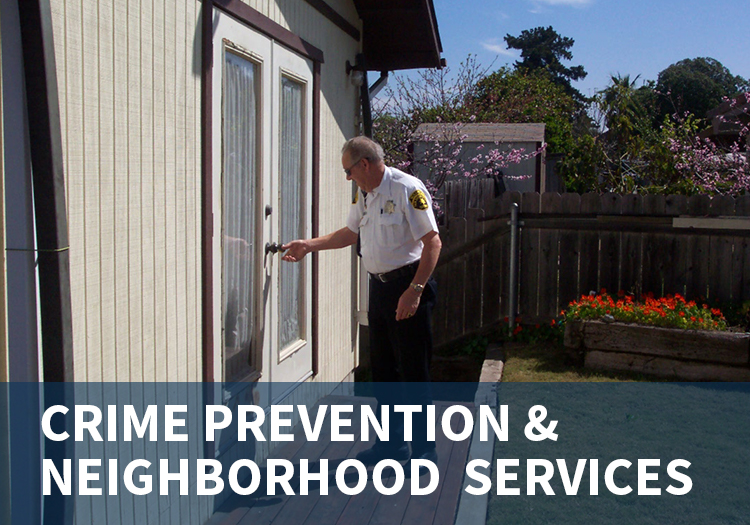 Crime Prevention & Neighborhood Services