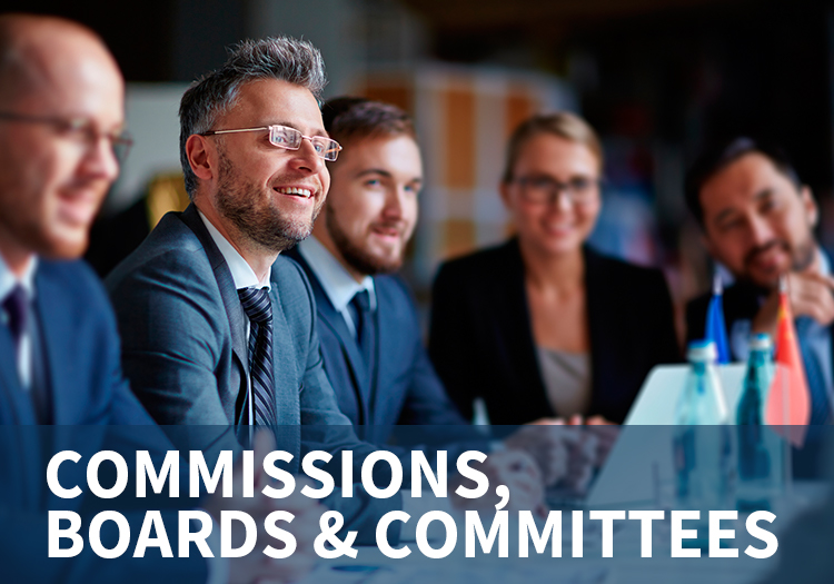 Commissions, Boards & Committees