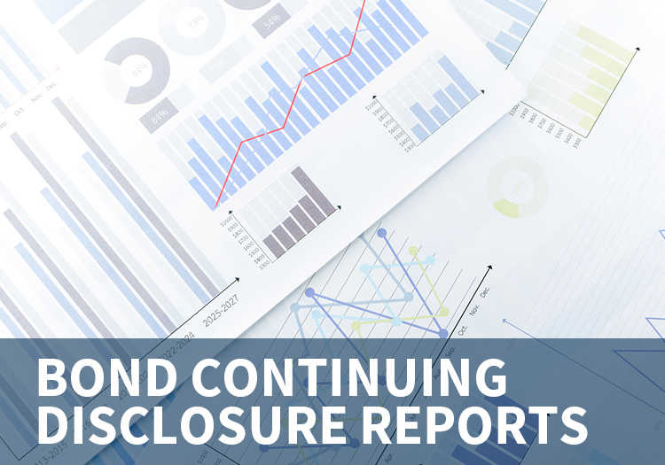 Bond Continuing Disclosure Reports