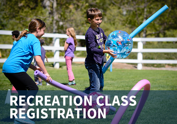 Register for a Recreation Class