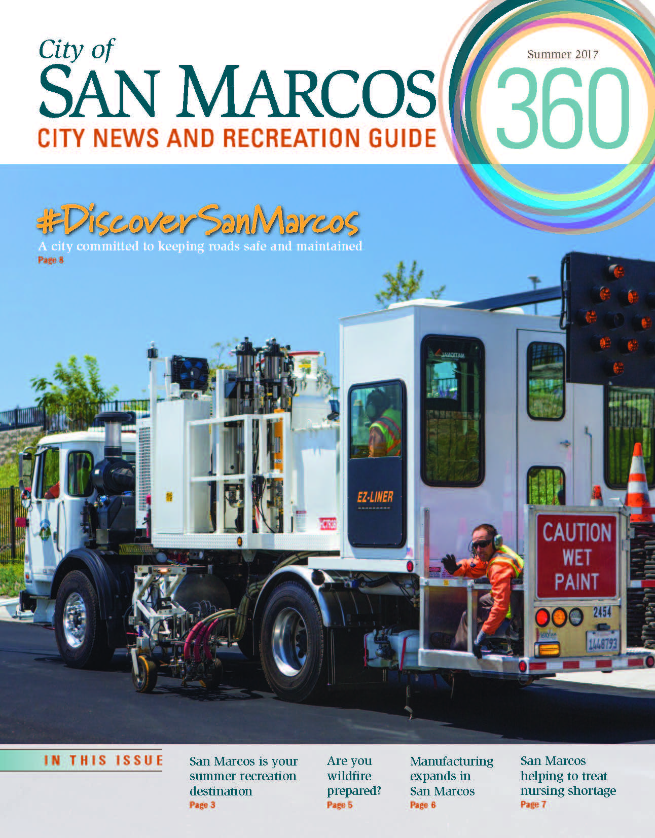 San Marcos 360, Summer 2017 COVER Photo