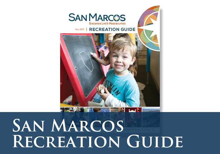 San Marcos 360 Recreation Guide Cover Image