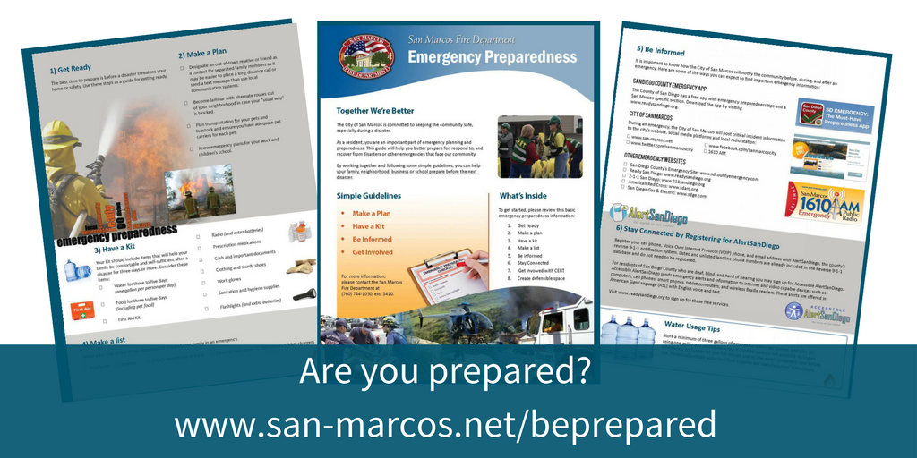 Are your prepared for an emergency?
