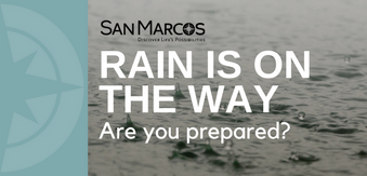 Are you prepared for rain?