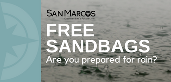 Free sandbags for San Marcos residents