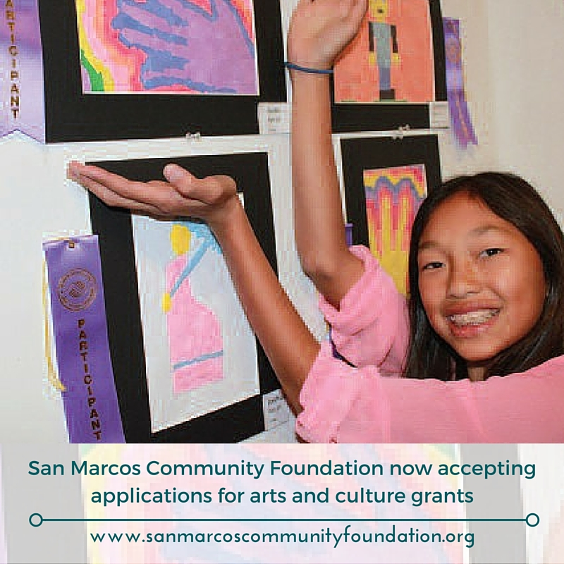 SMCF Arts Grants now available