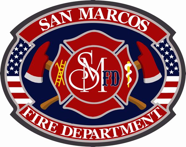 San Marcos Fire Department Logo