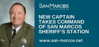 New captain takes command of San Marcos Sheriff's Station