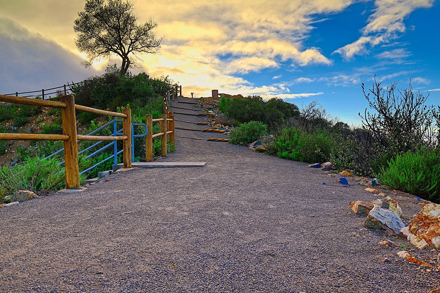 Double Peak Path by Bill Thomas