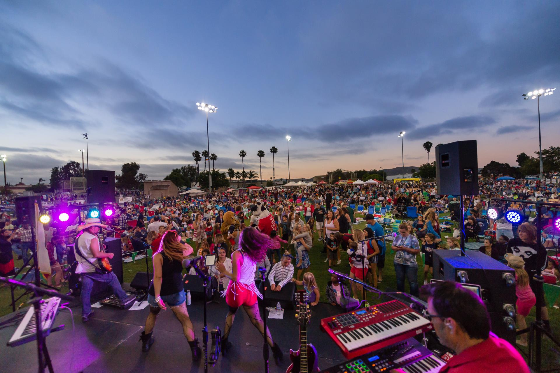 Liquid Blue band plays at Fourth of July event