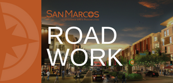 Road work alert for Twin Oaks Valley Road and Barham Drive