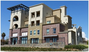 Promenade at Creekside is one of the mixed-used affordable housing developments that is helping the City meet a mandate while also grow strategically.