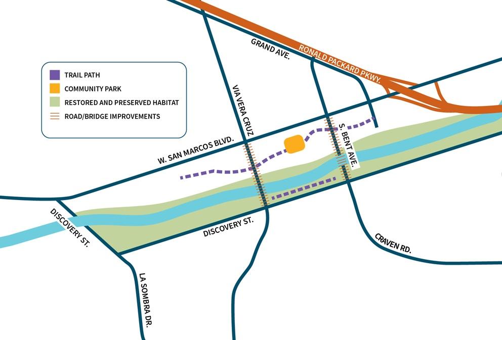 Creek Project Map December 2019