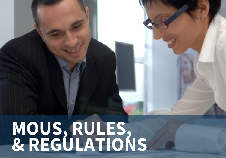 MOUs, Rules & Regulations