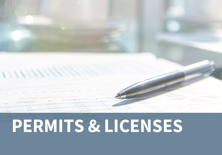 Permits and Licenses