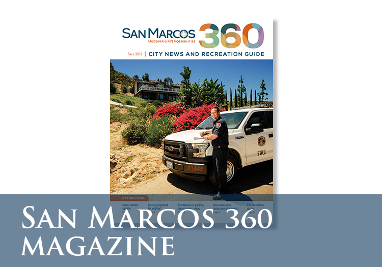 San Marcos 360 Magazine Cover Images