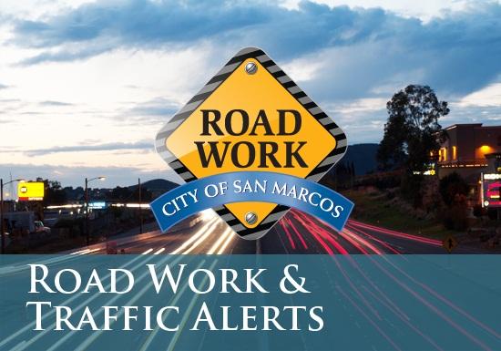 Road Work & Traffic Alerts