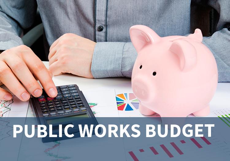 Public Works Budget